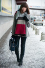 Heather-gray-zara-coat-black-zara-jeans-brick-red-sheinside-sweater