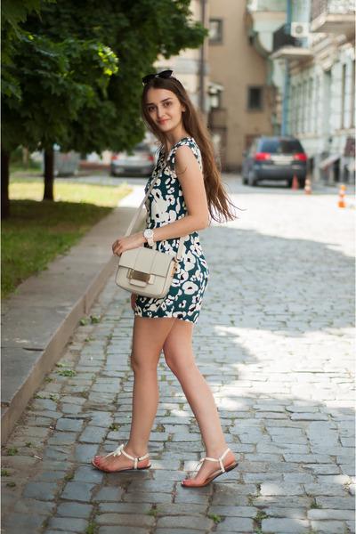 white watch asos watch - off white mini H&M bag