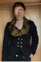 vintage shirt - asos blazer - Topshop pants