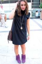 MSK purse - dress - Zara shoes