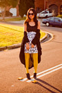Black-pinet-shoes-white-dress-light-yellow-tights-black-sunglasses