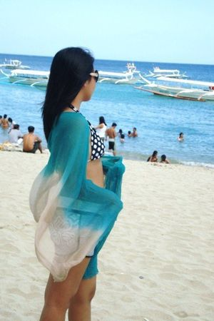 H&M scarf - Chanel glasses - Coco Cobana swimwear
