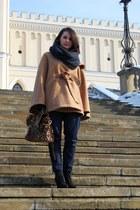 Deichmann boots - ebaycom bag - Zara pants - wwwromwecom cape