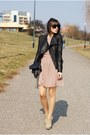 Tan-sylowebutkipl-shoes-tan-inlovewithfasioncom-dress-black-romwecom-jacket-