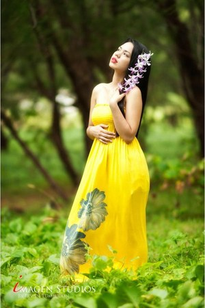 yellow S&S Clothing dress