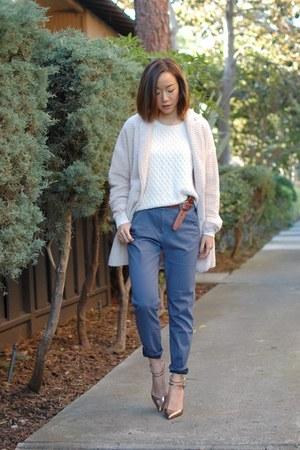Line & Dot coat - Gap sweater - H&M pants - Zara heels