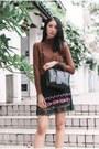 Black-leather-gucci-bag