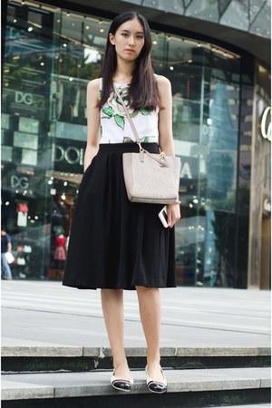 black midi skirt H&M skirt