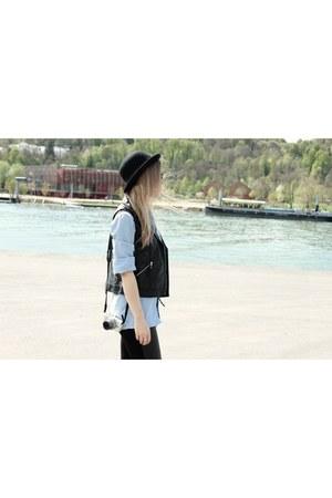 Allée du foulard scarf - H&M vest