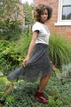 Forever 21 skirt - boots