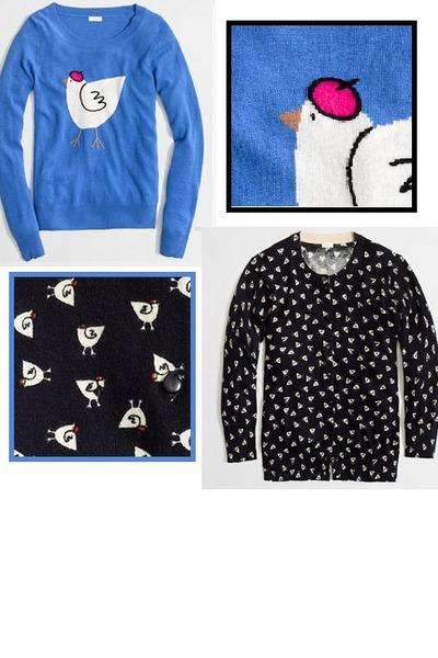 vicose-wool J Crew sweater - J Crew sweater