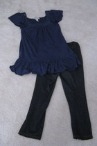 Korean Leggings leggings - sequins beading Next Era Couture Top blouse