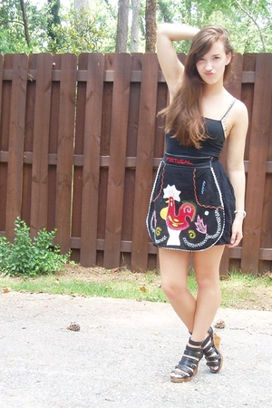 Rave top - skirt - accessories - urban original shoes