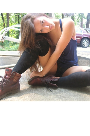 shirt - Target socks - boots