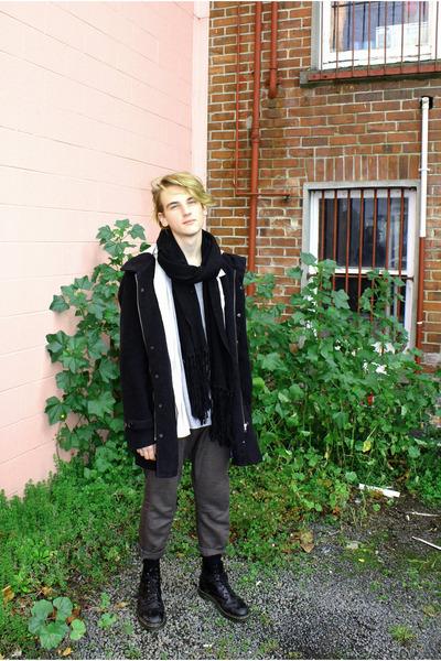 duffle coat stolen girlfriends club jacket - 8-eye boots doc martens boots