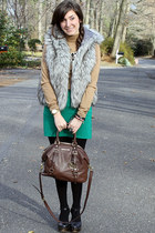 Loft vest - Forever21 shoes - H&M shirt - Michael Kors bag - Michael Kors watch