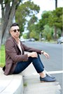 Black-munguia-shoes-salmon-ralph-lauren-shirt-black-zerouv-sunglasses