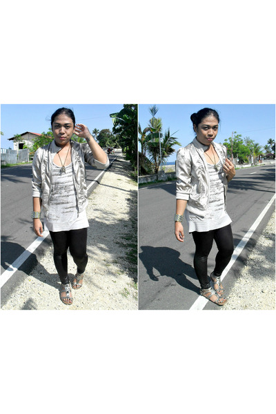 H&M shirt - Payless sandals