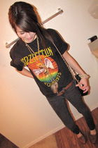 cotton Led Zeppelin t-shirt