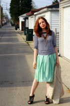 shirt - blazer - skirt