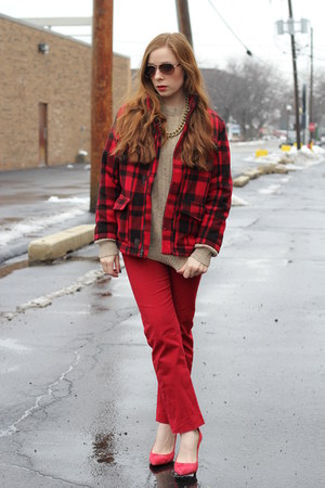 buffalo plaid Old Navy jacket - n jacket