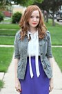 Jacket-blouse-skirt