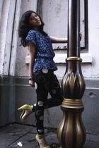 vintage top - Ksubi leggings