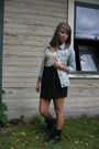 Beige-forever-21-top-black-charlotte-russe-skirt-blue-hollister-jacket-bla