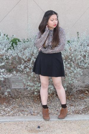 Forever21 skirt - Wet Seal wedges