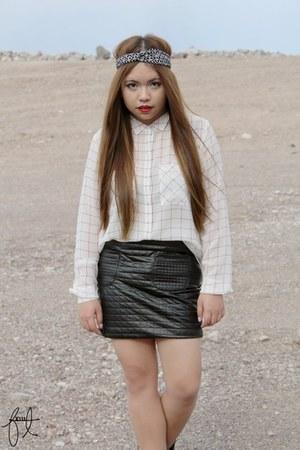 Forever21 skirt - Forever21 blouse