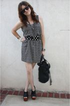 H&M dress - f21 belt - Jeffrey Campbelleffrey Campbelle shoes - f21 purse - Spit