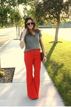 red Urban Outfitters pants