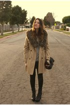 H&M coat - SwayChic leggings