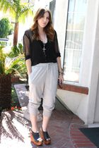 Jeffrey Campbell shoes - H&M shirt - Forever 21 pants