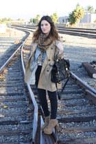 H&M coat - Jeffrey Campbell shoes - asos purse