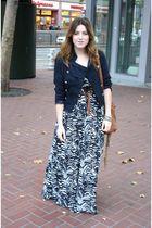 Target shoes - H&M dress - foreign exchange jacket - Aldo purse - H&M belt