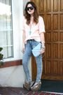Thrifted-sweater-urban-outfitters-jeans-vintage-purse-jeffrey-campbell-sho
