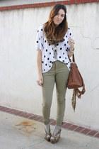 H&M top - H&M pants - Jeffrey Campbell