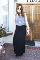American Apparel top - H&M skirt - Jeffrey Campbell shoes