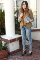 Zara blazer - Jessica Simpson heels