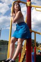 Target skirt - Target - Vans shoes - accessories -