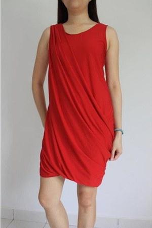 draped ARIUS dress