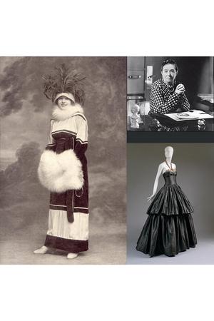 gray accessories - black dress - white dress