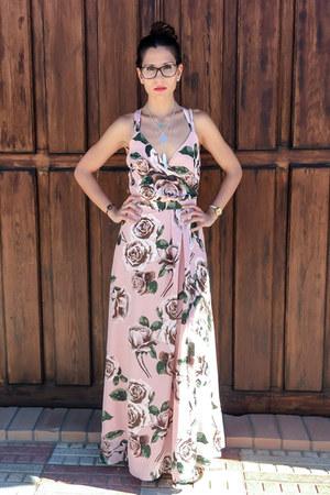 light pink maxi dress zaful dress