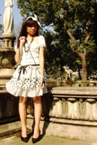 top - skirt - Miu Miu shoes