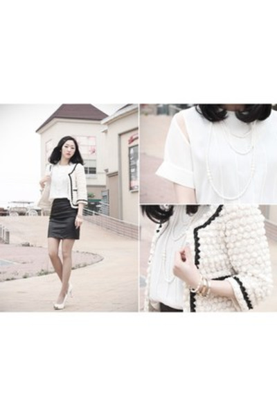 ARTFIT jacket - ARTFIT blouse - ARTFIT skirt - ARTFIT bracelet - ARTFIT pumps