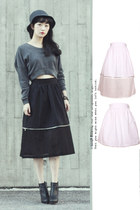 mua zipper detachable full skirt