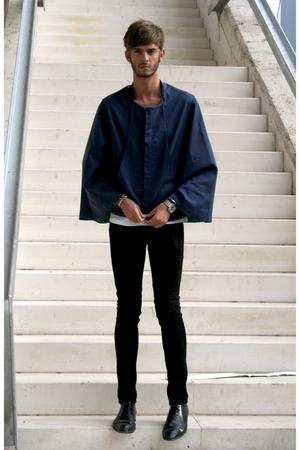 jacket - t-shirt - jeans - shoes - accessories
