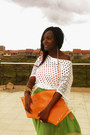 Ripped-top-carrot-orange-abstract-aarti-arte-bag-lace-trimming-diy-skirt