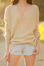 Cream-ellysage-sweater-gold-body-chain-2020ave-accessories